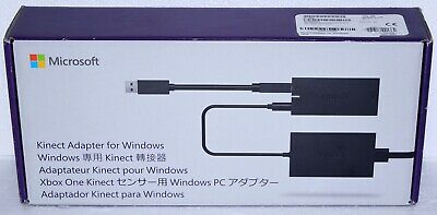 NEW Sealed Microsoft Kinect Adapter for Xbox One S and Windows PC - AUTHENTIC