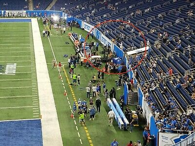 Detroit Lions Vs Tampa Bay Buccaneers Sunday Dec 15, Midfield, First 6 Rows