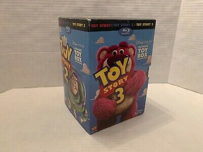 Toy Story Trilogy Ultimate Toy Box Collection (Blu-ray+DVD+Digital, 10-Disc)