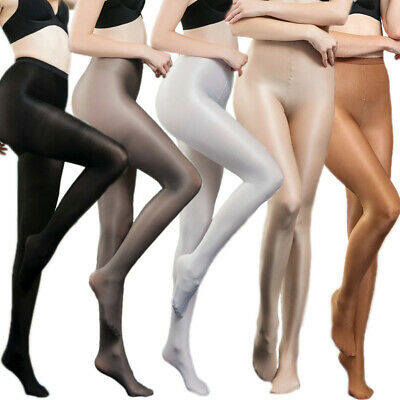 Sexy 70D Shape Firm Control All Over Stockings Pantyhose Women Shiny Tights S-XL