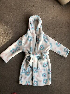 John Lewis Girls' Dressing Gown 2-3 Yrs, Excellent Condition