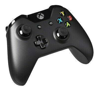 Official Microsoft Xbox One Wireless Controller Model 1537 Black