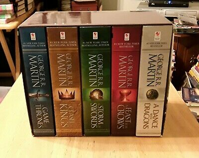 Game Of Thrones Softcover 1 - 5 Boxed Set Song Of Fire And Ice