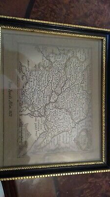 small Yorkshire map in frame says taken from Speeds atlas