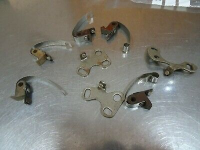Job Lot Mixed Lucas Distributor Points Contacts.vintage Bsa Norton Triumph