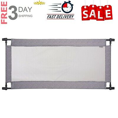 Evenflo Soft and Wide gate Emery Baby Safety Fence Pressure Mounted Baby Gate