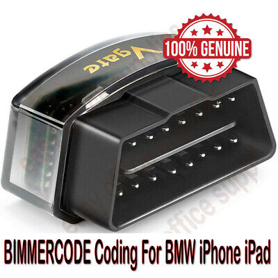Bluetooth 4.0 Vgate iCar Pro BIMMERCODE Coding For BMW  iPhone iPad Android OBD2