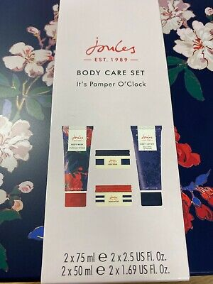 Joules Body Care Set - BRAND NEW. For women, contains body scrub, lotion, butter