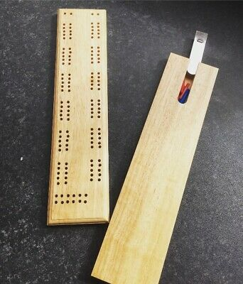 Cribbage Board With Pegs- Brand New