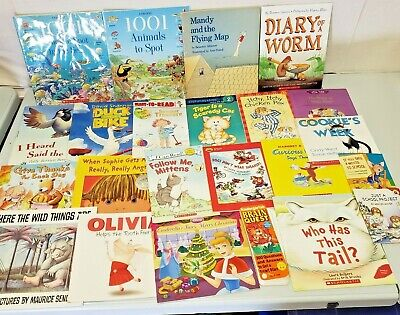 Lot of Early Readers, Level 1 2 4  Scholastic Random House I Can Read Brain GAME