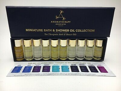 Aromatherapy Associates Miniature Bath And Shower Oil Collection 10 x 3 ml C24 C