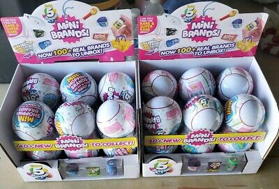Zuru - 5 Suprise Mini Brands  - SEALED Ball (AUTHENTIC)  (1 ball)