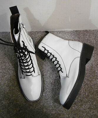 promo code shopping purchase cheap WHITE ANKLE BOOTS - $20.00 | PicClick