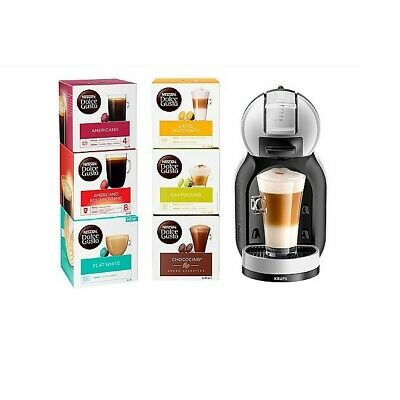 Nescafé Dolce Gusto Mini Me Starter Kit Coffee Machine With 6 Boxes Of Pods