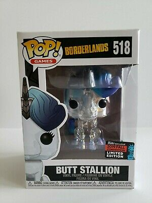 Funko POP! Borderlands BUTT STALLION #518 2019 NYCC Shared EXCLUSIVE + PROTECTOR