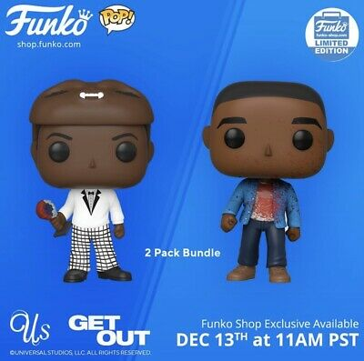 Get Out & Us Horror 2-Pack CONFIRMED ORDER Funko Shop Exclusive Funko Pops