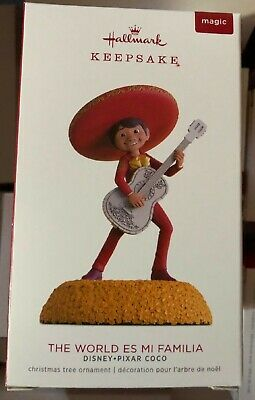 Coco Hallmark 2018 Disney Keepsake Ornament The World Es Mi Familia Pixar