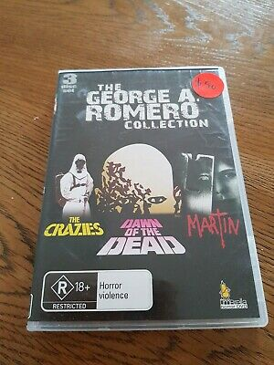 The George A Romero collection -  the crazies/ Dawn of the Dead/ Martin DVD set