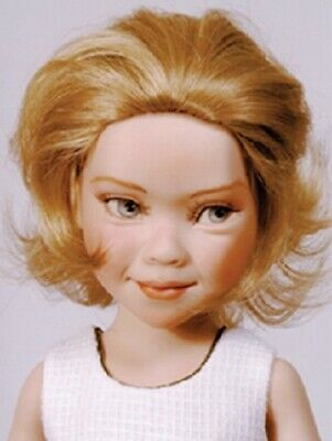 Monique Doll Wig size 5//6 New in Box ~ MARGIE ~ Off Black ~ SO CUTE!