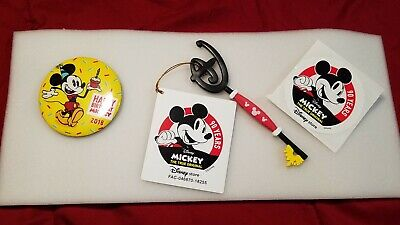 Disney Store Limited Edition Key- 90th Birthday Mickey Mouse Collectors Key