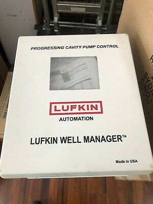 Lufkin Automation well manager, progressing cavity pump controller