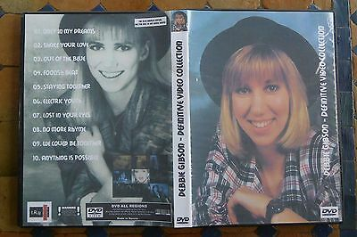 DVD Debbie Gibson - Definitive Video Collection - SPECIAL FAN EDITION