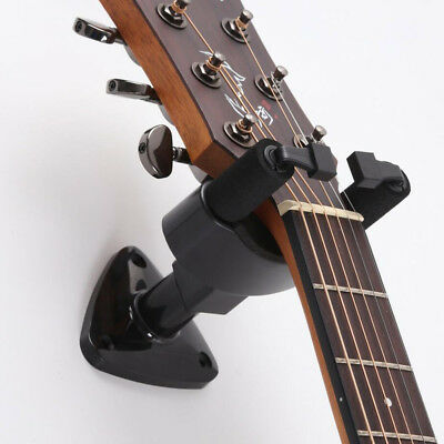 Guitar Wall Hanger Bracket Neck Support Fits Electric Acoustic Bass Guitars etc