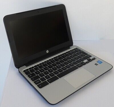Hp Chromebook 11 G3 Notebook Pc Intel N2830 2.16Ghz Ram 2Gb Ssd 16Gb Chrome Os