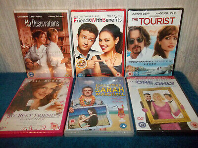 Drama - 6 Dvd Bundle - No Reservations, Friends With Benefits, Tourist... Sealed