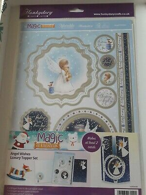 Hunkydory topper set  - Angel wishes