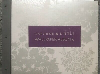 Osborne & Little Wallpaper Sample Book - Album 6 - Fish/Dog/Silhouette/Floral/