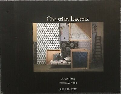 Christian Lacroix Wallpaper Sample Book - Air De Paris Wallcoverings/Designers