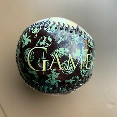 Game of Thrones Faces Baseball.  Collectible Souvenir Baseball   Full Gloss.