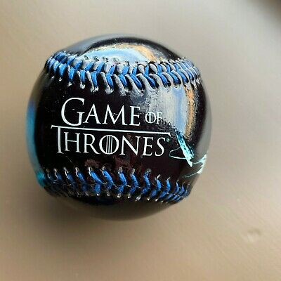Game of Thrones Jon vs Ice  Baseball.  Collectible Souvenir  Full Gloss.