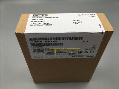 New In Box Siemens 6GK7343-1EX30-0XE0 6GK7 343-1EX30-0XE0