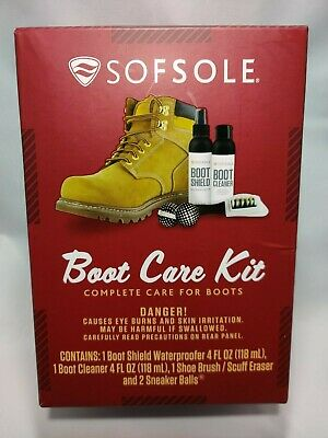 Sof Sole Boot Care Kit - NEW UNOPENED