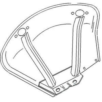 Right Hand Fender For John Deere JD 1020 1030 1040 1130 1140 1520 1530 1550 1630