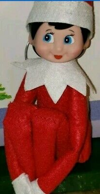 Fast shipping Christmas Plush toy doll Decoration ornaments tef girl elf new