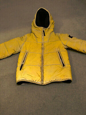 Stone Island  Liquid RefleJacket Boys / Girls Yellow Liquid Reflective  Age 8/9