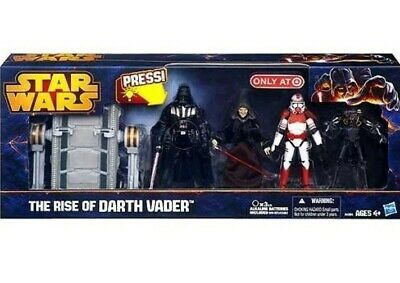 Star Wars 2013 Exclusive Action Figure 4-Pack Rise of Darth Vader NIP