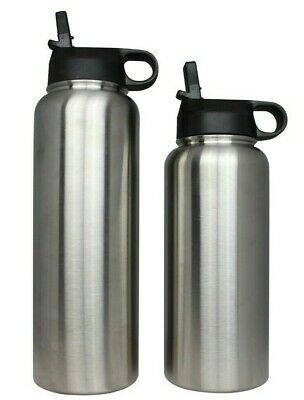 Hydro Wide Mouth Flask Stainless Steel Water Bottle Insulated Flex 32oz or 40oz
