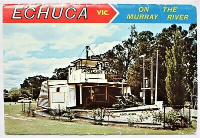 Echuca Victoria On the Murray River view folder