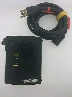 Anton Bauer Tandem Charger / Power Supply - Model 8475-0067 - Gold Mount