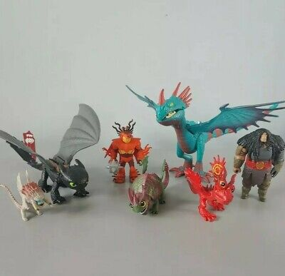 How to Train Your Dragon Toys Lot  7 Figures