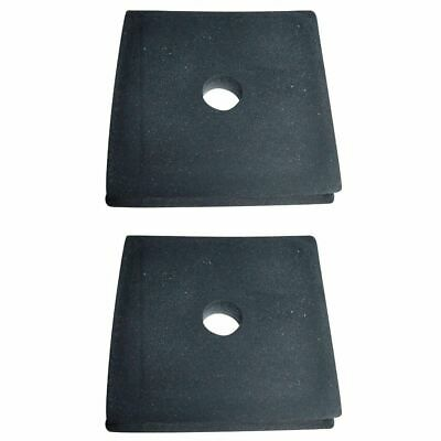 2 Tractor Radiator Mounting Rubber Pads for Ford NAA 600 601 800 801 2000 4000