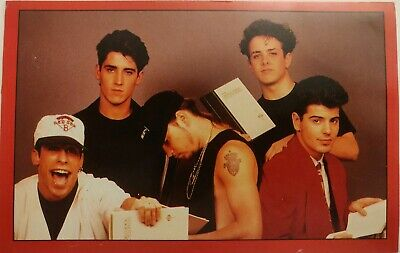 TV Hits – New Kids on the Block – Postcard – 1980's-1990's