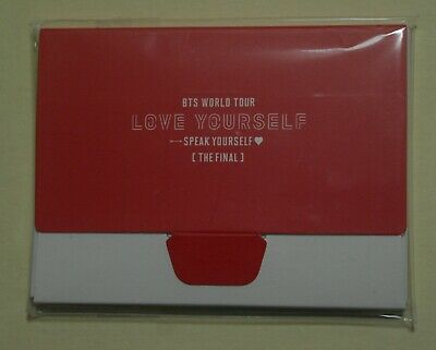 BTS Love Speak Yourself The Final Tour Official Mini PhotoCard SUGA  [PICK 1]