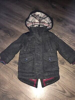 Boys Ted Baker Coat Age 12-18 Months
