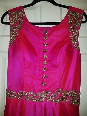 Asian Party Dress  size 10-12
