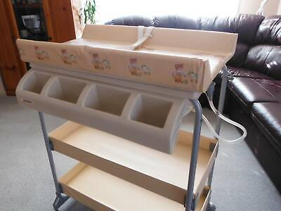 Baby Change Table and Bath - Excellent Condition